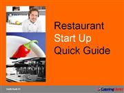 Restaurant Start-Up-Quick-Guide