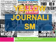 4-Yellow Journalism