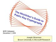 cryptography(MSRColloqDec2009)