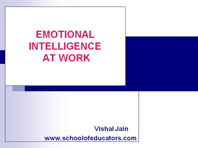 Emotional-Intelligence |authorSTREAM