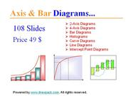 Axis & Bar Diagrams for business presentations