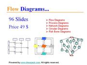 Flow Diagrams for business presentations