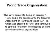 world-trade-organization.ppt