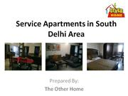 Book Service Apartments in Delhi - The Other Home