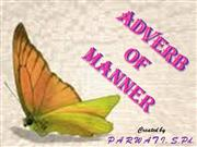 ADVERB OF MANNER 8
