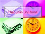 Hair Loss Solutions