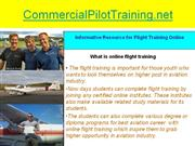 how to find online atp schools for flight training