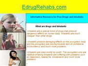 how to find symptoms and signs of inhalants drug