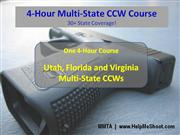 4-Hour Multi-State CCW Course
