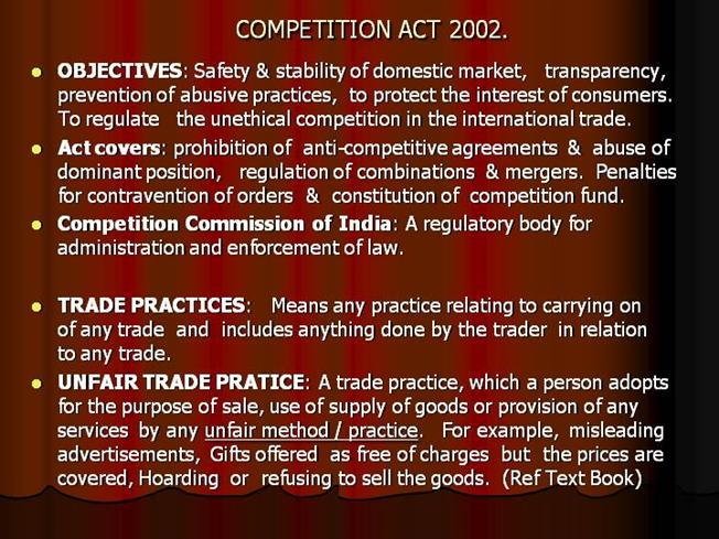 Competition Act 2002 Pdf