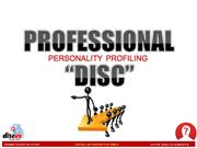 Personality & Business Profiling