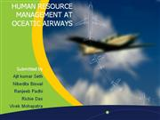 HUMAN RESOURCE MANAGEMENT AT OCEATIC AIRWAYS