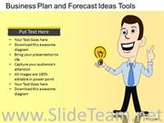 Business Plans And Ideas PPT Diagram