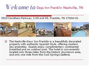 days inn franklin nashville