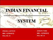 INDIAN FINANCIAL SYSTEM PPT