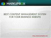 Best CMS for business websites