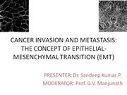 CANCER INVASION AND METASTASIS - 2007