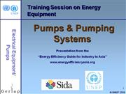 Pumps and pumping system