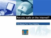 Are you safe on the Internet?
