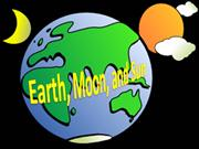 earth, moon, and sun powerpoint