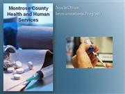 Montrose County Health - Nucla Office - Immunizations