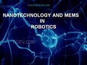 NANOTECHNOLOGY AND MEMS 1