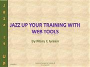 web tools for training