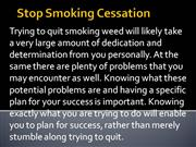 Stop Smoking Cessation