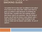 Self Hypnosis Stop Smoking Guide