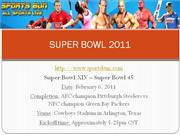 Super Bowl 2011 (45) Live Streaming