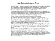 houston movers,houston moving companies,houston apartment mover