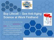 Buy Lifecell and Ensure Your Anti Aging Expectations are Met