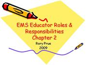 EMS Educator Roles & Responsibilities_ch02