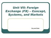 Unit VIII- customs union and regional groupings