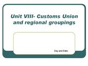 Unit VI-Terms of trade