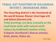 Tribal Art Paintings of Hazaribag Part 9