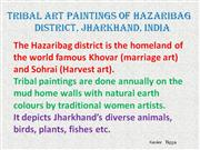 Tribal Art Paintings of Hazaribag Part 1