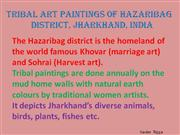 Tribal Art Paintings of Hazaribag Part 2