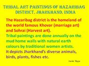 Tribal Art Paintings of Hazaribag Part 3