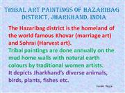 Tribal Art Paintings of Hazaribag Part 4