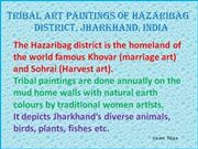 Tribal Art Paintings of Hazaribag Part 5