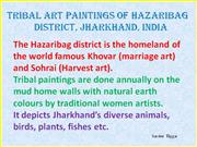 Tribal Art Paintings of Hazaribag Part 6