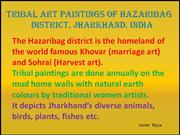 Tribal Art Paintings of Hazaribag Part 8