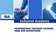 Professional Training Courses Advantages