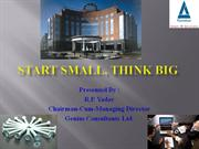 Start Small, Think Big - Genius Consultants Ltd.