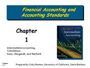 financail accounting and accounting standards