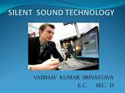 e0adSILENT  SOUND TECHNOLOGY