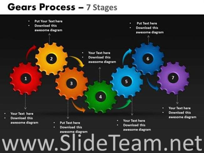 Gears business process flow chart powerpoint diagram related powerpoint templates toneelgroepblik Choice Image