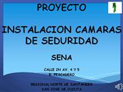 PRESENTACION PROYECTO CAMARAS DE SEGURIDAD