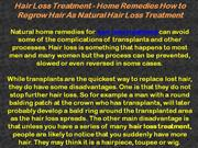 Natural Hair Treatment
